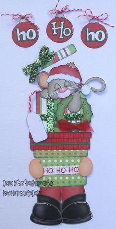 Navidad, navidad y navidad... la época festiva, que más me encanta!!!! :: RT Decoraciones y algo más... Christmas Scrapbook, Paper Piecing, Personalized Items, Create, Pattern, Design, Scrappy Quilts, Xmas, Ideas