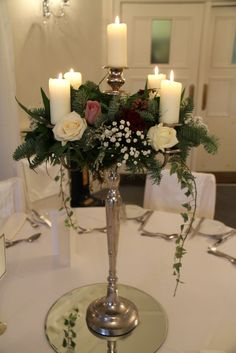 Just an example of how candelabras can look if they're decorated, in case we want to use them.