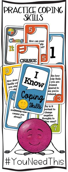 Anger Control Kit: Coping Skills Card Game - the healing path with children Social Skills Activities, Teaching Social Skills, Counseling Activities, Career Counseling, Elementary School Counseling, School Social Work, School Counselor, Elementary Schools, Therapy Games