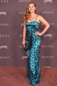 Amy Adams attends the 2017 LACMA Art + Film Gala Honoring Mark Bradford And George Lucas at LACMA on November 4, 2017 in Los Angeles, California.