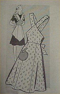 Vintage-Bib-Apron-Full-Size-Pattern-Sexy-1940s-WWII-Era-Style-Sewing-Project