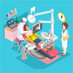 Buy Isometric Dental Center by alexdndz on GraphicRiver. Flat isometric concept people dentistry, dental center of implantation tooth, hygiene and whitening oral surgery, . Isometric Art, Isometric Design, My Tooth Fairy, Dental Center, Dental Art, Dental Surgery, Medical Illustration, Cool Animations, Simple Bags