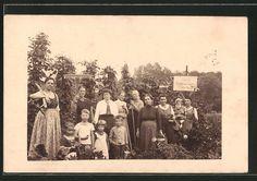 Old Photo PC Grieskirchen Frauen Kriegsgarten Im August 1917 Hopfenanbau | eBay