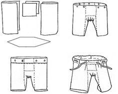 medieval men's pants w/ gusset