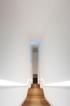 The interiors of Casa das Mudas, a cultural center in Madeira Island, from portuguese architect Paulo David