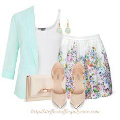 Mint Green, Floral