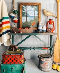 Camping Room, Vintage Cabin, Little Cabin, Lake Cabins, Lake Cottage, Lodge Decor, Fireplace Design, Fashion Room, Room Inspiration
