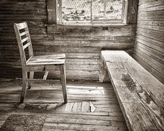 """Photograph by Rob Reilly received Honorable Mention for """"Chair and Bench"""""""