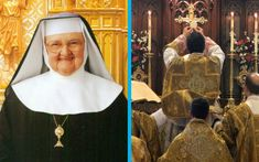 """Catholic journalist Raymond Arroyo, who wrote a popular biography of Mother Angelica, reports that she thought that """"Latin was the perfect language for the Mass."""" She explained: """"It was almost mystical. It gave you an awareness of heaven, of the awesome humility of God who manifests Himself in the guise of bread and wine. The love that He had for us, His desire to remain with us is simply awesome. You could concentrate on that love, because you weren't distracted by your own language."""""""