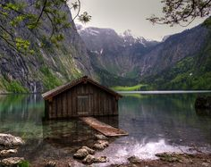 The Obersee, or Upper Lake, is the largest of two parts of Lake Constance located in southern Germany.