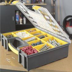 Stanley 26 compartment organizer 14006 home depot - Boite de rangement pour lego ...