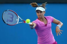 7/30/14 Lauren Davis rallies to def. Shaui Peng 1-6, 6-4, 6-2 in their opening rd  of the Citi Open in D.C.