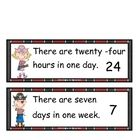It's Pirate Time!  This product can be used for various learning strategies. Included in this product: Days of the week cards and abbreviations, ...