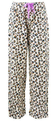 67bb409c01  15.99 Leisureland Women s Cotton Flannel Pajama Sleepwear Lounge Pants  Leopard From Leisureland Get it here