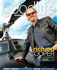 GoodLife Mississauga July/August 2011  Mig Pilot/Airshow entrepreneur Richard Cooper
