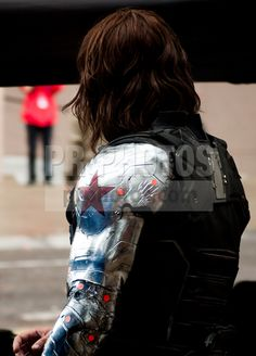 Winter Soldier>>never thought I'd be this turned on by a bionic arm but hey whaddya gonna do