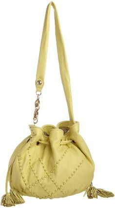 $208.00 Handbags  Elliott Lucca Millana Bucket Bag, Bright Yellow, One Size - When a bag is finely crafted, you can take it anywhere. This buttery soft leather satchel by Elliott Lucca reigns with quality, prestige and an affordable price tag. http://www.amazon.com/dp/B004H4WKHQ/?tag=pin0ce-20