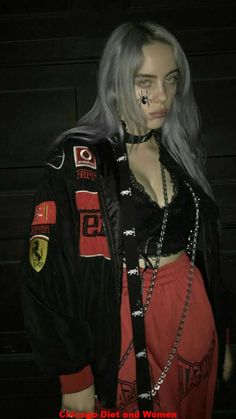 Kids and parenting billie eilish clothes billie eilish, red aesthetic, gr. Outfits Casual, Purple Outfits, Style Outfits, Style Casual, Billie Eilish, Black And White Outfit, Beautiful People, Most Beautiful, Beautiful Pictures