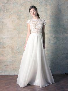 organza skirt line bridal dress Couture Dresses, Bridal Dresses, Macrame, Skirts, Collection, Fashion, Bohemia, Haute Couture Dresses, Bride Dresses