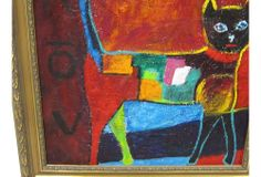 One Kings Lane - Pet Project - Abstract Cat