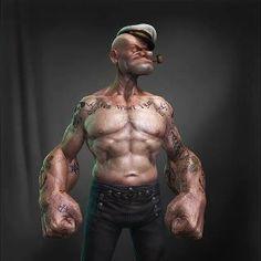 Popeye átment Hardcore-ba :)