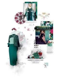 """""""Persian Green"""" by semper-eadem ❤ liked on Polyvore featuring Kerr®, Talitha, Rosie Assoulin, Swarovski, John Galliano, Lipstick Queen, GET LOST, Sur La Table, Melie Bianco and Trilogy"""