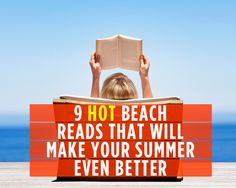 9 Hot Beach Reads That Will Make Your Summer Even Better  (In this case, we're the clients! BOOMERANG's on a list with some pretty heavy-hitters here! Woot!)