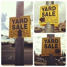 {Blog} Yard sale goodness