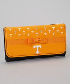 Take a look at this Tennessee Logo Trifold Wallet by Turnovers, Inc. on #zulily today!