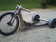 Image result for drift trike | Moto Dh Velo, Kids Go Cart, Drift Trike Frame, Bike Cart, Electric Trike, Custom Trikes, Trike Motorcycle, Beach Buggy, Big Wheel
