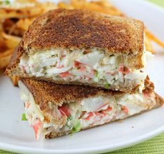 Crab Grilled Cheese