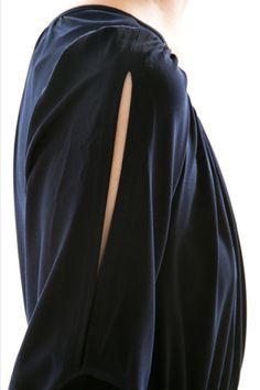 Colorblock Tie Dress – adorable details!