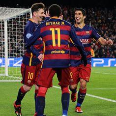 Así, la MSN terminó el 2015 con un registro total de 136 goles en todas las competencias, lo que marca un récord histórico para la delantera de un equipo.