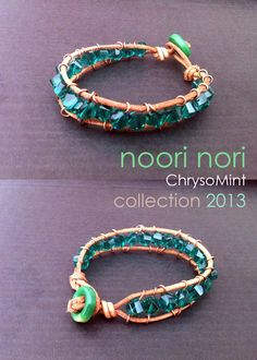 Bracellets ❤ ChrysoMint collection ❤ Pulseras mod. b15