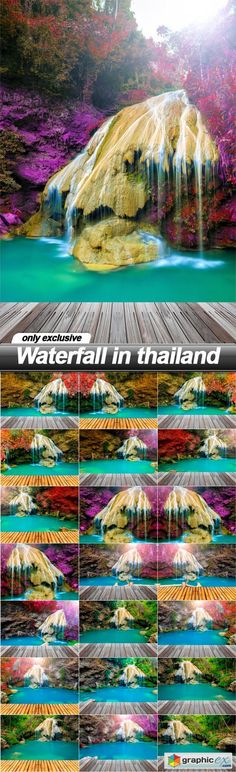Waterfall in thailand - 21 UHQ JPEG