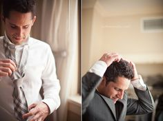Photo - groom getting ready