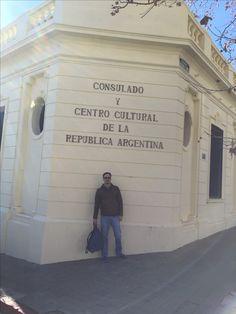 Consulado Argentino em Colonia Del Sacramento - Uruguai - Viagens 2017 - Raizao