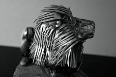 Look closely what this is made of ! Amazing work Gary Hovey Sculptures - Gary Hovey Sculptures