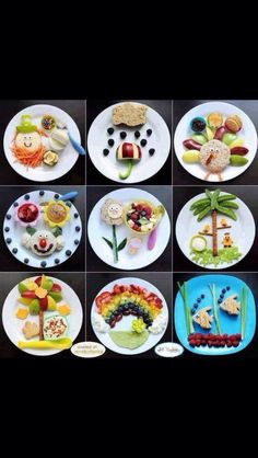 These fun plates are perfect for getting kids to indulge in (new and) colorful foods.