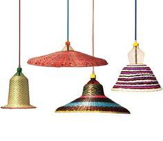 Lámparas artesanales del diseñador madrileño Álvaro Catalán