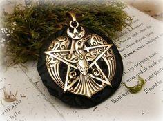Celtic Pheonix pendant   wiccan by SpellboundOriginalz on Etsy