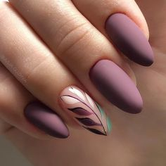 Find the best matte nail designs which are the latest trends this season to sport the best in nail art. Shellac Nail Art, Stiletto Nail Art, Matte Nails, Diy Nails, Cat Nail Designs, Nagel Bling, Wedding Nails Design, Oval Nails, Manicure E Pedicure