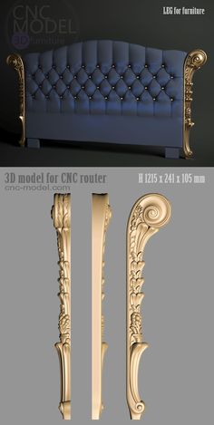Wall paneling diy bedrooms headboards 70 Ideas for 2019 Basement Furniture, Furniture Legs, Furniture Design, Furniture Movers, Luxury Bedroom Design, Bedroom Bed Design, Bed Headboard Design, Headboards For Beds, Cnc Router