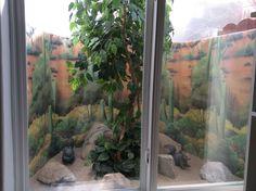 Basement window view, by Ines Pacasira - vista de una ventana en el sótano, Idea de Ines Pacasira