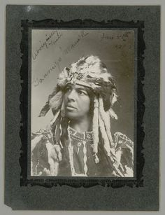 Go-Won-Go (the daughter of Chief Ga-ne-gan) - Iroquois (Mohawk) – 1903