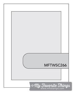 MFT Card Challenges: Wednesday Sketch Challenge - Sketch 266 - #mftstamps