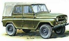 Military Car, Military Vehicles, Jeep 4x4, Retro Cars, Cold War, Cars And Motorcycles, Weapons, Illustration, Artwork