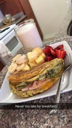 Healthy Meal Prep, Healthy Breakfast Recipes, Healthy Snacks, Healthy Eating, Healthy Recipes, Fitness Meal Prep, Food Goals, Aesthetic Food, Food Cravings