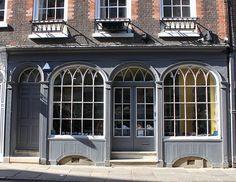 Georgian Shopfront: Trinity Street, Cambridge