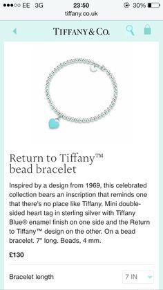 e5ac624f5 11 best Tiffany & Co. Charm Bracelet images | Bracelets, Charm ...